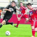 Wieder dabei: Nach langer Pause steht Tobias Möller, hier im Spiel gegen Dörnberg, den Grebensteinern wieder zur Verfügung.