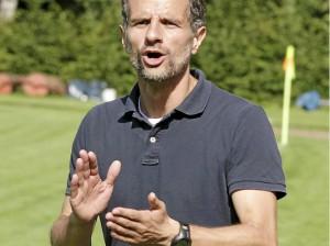Trainer Driton Mazrekaj